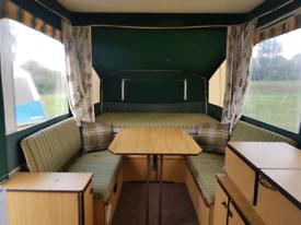 Conway Laser rare hard top trailer tent/folding camper