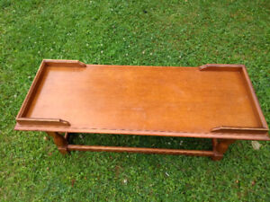 Kroehle coffee table made in Canada