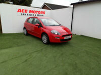 2013 FIAT PUNTO 1.2 8v EASY 5 DR HATCHBACK,ONLY 36000 MILES WITH SERVICE HISTORY
