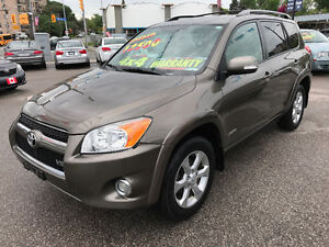 2010 Toyota RAV4 LIMITED 4WD SUV....MINT CONDITION