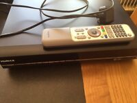 Humax PVR hard disc recorder and freeview box
