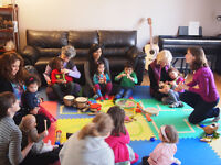 Music Appreciation Classes 0-6 years (Éveil musical 0 - 6 ans)