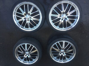 """19"""" Summer tires and rims"""