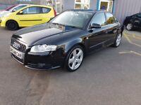 Audi A4 1.9 TDI S LINE TDV (black) 2007