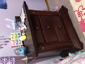 Baby Cache 4 in 1 crib set with dresser and night stand