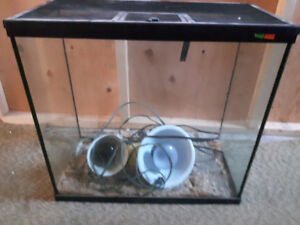 Pet glass cage