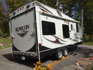 21 foot rubicon toy hauler 2013 model