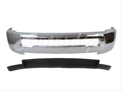 For DODGE RAM 2500 3500 2WD 2010-2012 FRONT STEEL BUMPER CHROME AIR DAM W/O HOLE