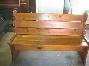 Beautiful Antique  bench