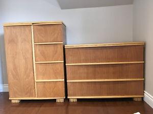 Mobilier de chambre 5 morceaux