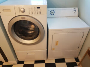 washer and dryer great condition  or best offer