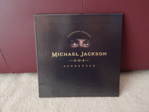 MICHAEL JACKSON DANGEROUS CD ALBUM BOX SET - COLLECTOR'S EDITION