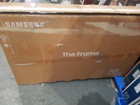 SAMSUNG 55 INCH THE FRAME SMART NEW BOXED TV CALL 07550365232