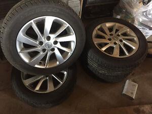 Stock Sentra wheels 5x114.3