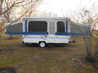 1999 Starcraft tent trailer-Spacious 12ft Starlounge model