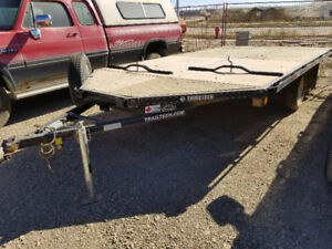 14' V-Nose Snowmobile Trailer