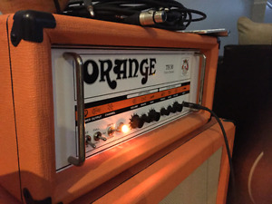Orange Th30 head and matching cab