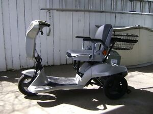 trade a sailboat for an electric scooter