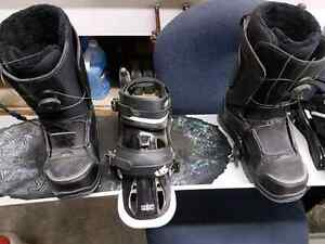 Brand new  Burton 161 snowboard, bindings and boots.