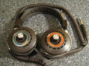 écouteur vintage headphone KOSS **voir la note**