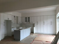 Cabinet installer and painter
