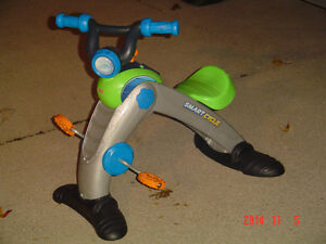 FISHER PRICE SMART CYCLE RACER PHYSICAL LEARNING ARCADE SYSTEM