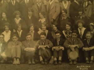 Antique Photograph of Queens University Arts Class of 1930