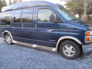 2001 Chevolet Express Conversion Van $6500.