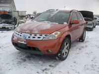 FOR PARTS 2003 NISSAN MURANO@PICNSAVE WOODSTOCK Woodstock Ontario Preview