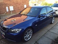 BMW 320d msport le mans blue,low mileage, full service history, stunning car