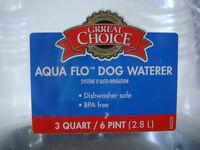 Aqua Flo Dog Waterer