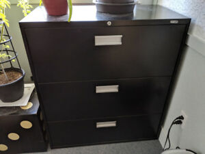 Black - Lateral File Cabinets