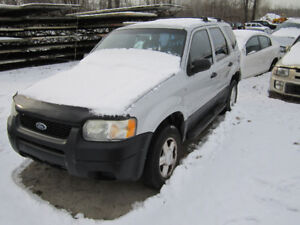 2002 Ford Escape ** FOR PARTS ** INSIDE & OUTSIDE**