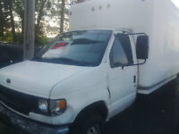 1999 Ford F-350 cube van Other