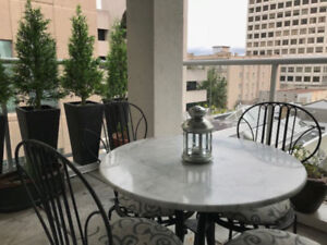 Escape November to 2 bed/2 bath downtown Victoria condo