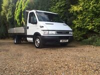 Iveco daily 35c12 3500kg 2.3hpi 14ft alloy drop side truck
