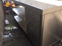 Stainless steal table