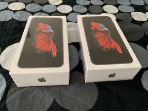 Brand New, Sealed, Unlocked iPhone 6S Plus 32 GB, Space Gray x2