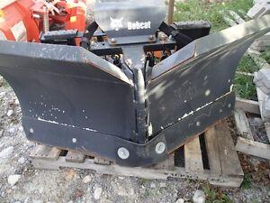"Bobcat 60"" hydraulic V blade.  Very little use  $1400"