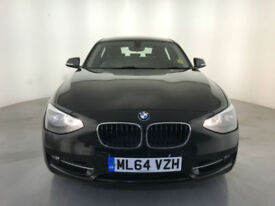 2014 64 BMW 120D SPORT DIESEL 181 BHP 1 OWNER SERVICE HISTORY FINANCE PX WELCOME