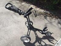 Stewart R1 golf push trolley