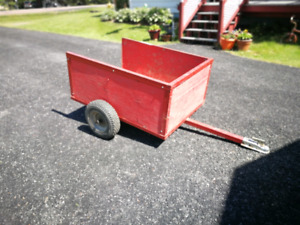 Small Trailer for ATV or Lawn Tractor