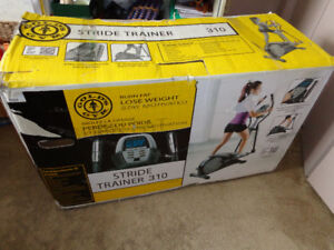 Gold's Gym Stride Trainer N.I.B.