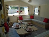 Brand new 3 bedroom static caravan for sale Devon 12 month season by the coast