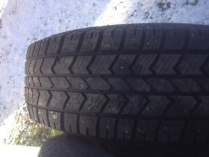 """Studded tires on 16""""rims"""