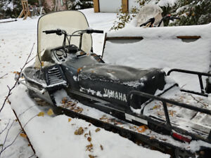 Snowmobiles and Trailer for Sale
