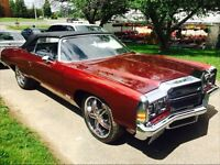 RARE FOUND 72 CHEVY IMPALA SS CONVERTIBLE CANDY READ