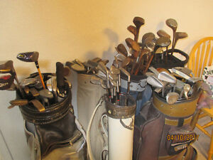 GOLF CLUBS OVER 40 PUTTERS