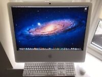 Apple iMac 24' 2.33mhz dual core Intel CPU 3GB ram 250GB hard drive Radeon 7600GT 256MB Boxed