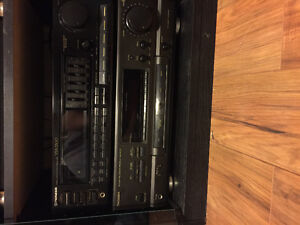 2 stereo receivers